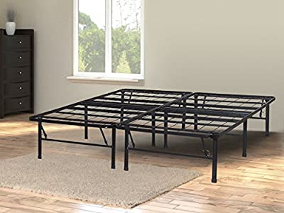 Olee Sleep Metal Platform Foundation Bed Frame No Box Spring Needed By Sleeplace