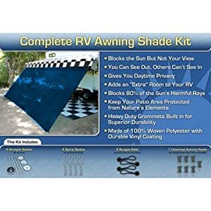 Amazon Com Rv Awning Screen Room Awning Shade Complete