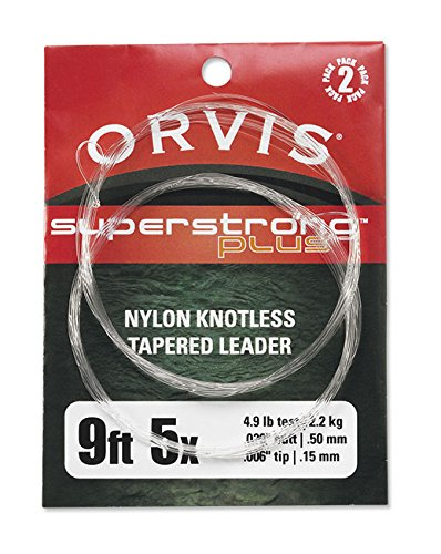 Orvis Fly Fishing Super Strong Plus Leaders - 2pk
