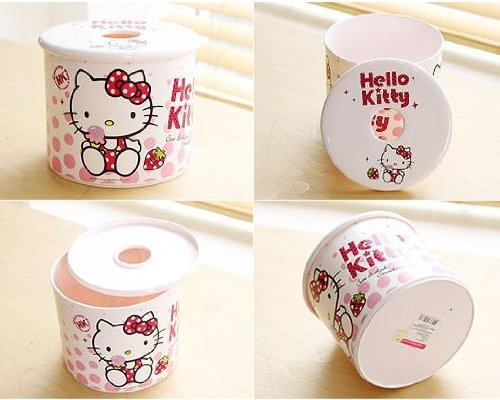 Sanrio Hello Kitty Toilet Paper Case Cover