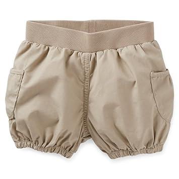 Amazon.com: Carter s Baby Girl algodón pantalones cortos de ...