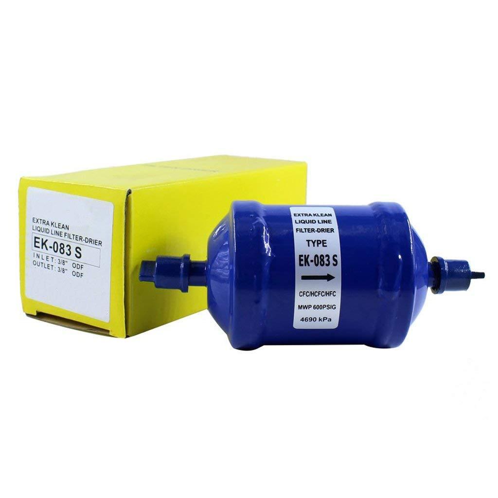 Hermetic Liquid Line Filter Drier EK-083S INLET 3/8''ODF OUTLET 3/8'' ODF
