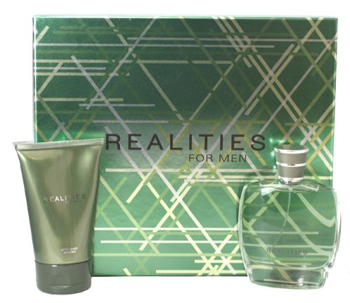 ( ) For Men Realities New Cologne (Realities (new) By Liz Claiborne For Men. Set-cologne Spray 3.4 Ounces & After Shave Soother 4.2 Ounces)