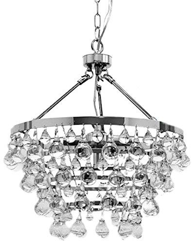 Indoor 5-light Luxury Crystal Chandelier (Jasmine 5 Light Chandelier)