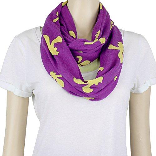 Purple Fleur De Lis - 5