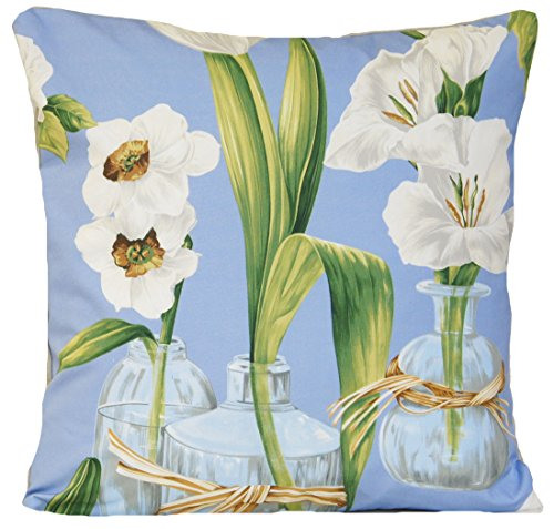 Amazoncom Flowers And Vase Design Decorative Pillow Throw Case