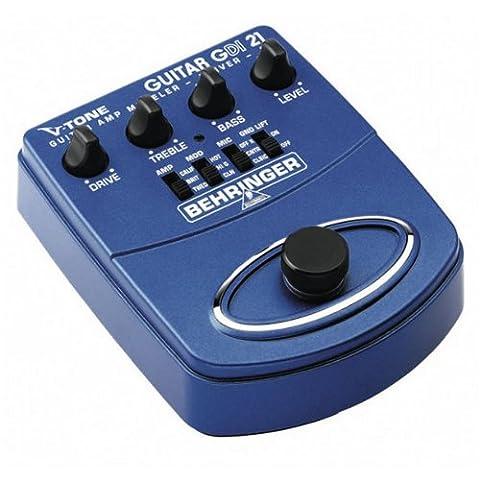 Behringer GDI21 V-Tone Guitar Amp Modeler Pedal 000-295 (V Tone Behringer)