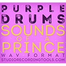 Prince Drums Sounds of a Prince Wav Format Samples CD