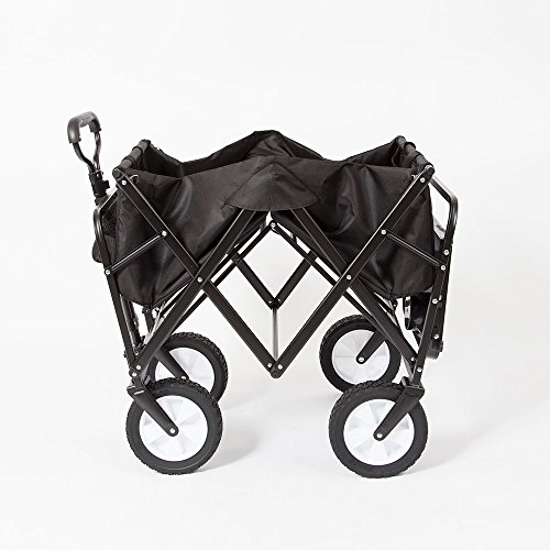 Mac Sports Folding Garden Utility Wagon w/Table, Black by MAC S P O R T S (Image #1)