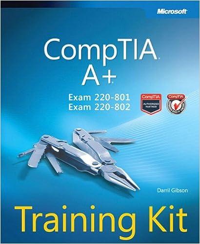 Comptia A+ 220-801 And 220-802 Exam Cram Pdf