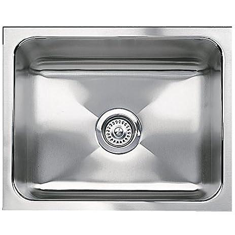 Blanco 440290 Blancomagnum Single Bowl Undermount Kitchen Sink, Satin