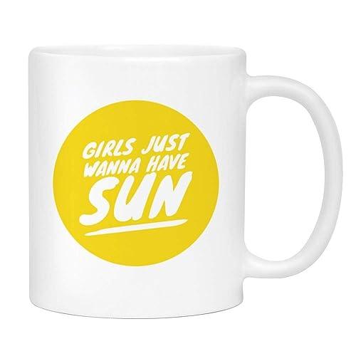 Girls Just Wanna Have Sun Coffee Mug