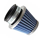 42mm Blue Air Filter for 50cc 110cc 125cc 150cc 200cc Gy6 Moped Scooter Atv Dirt Bike Motorcycle