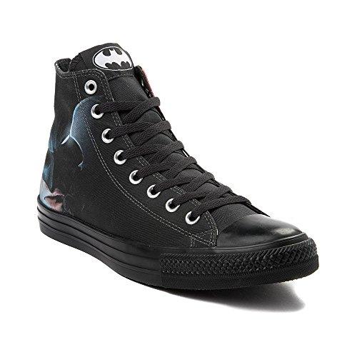 Converse Unisex Adults' CTAS White/Black Hi-Top Trainers, Black (Black/White/Black 001), 4 UK]()
