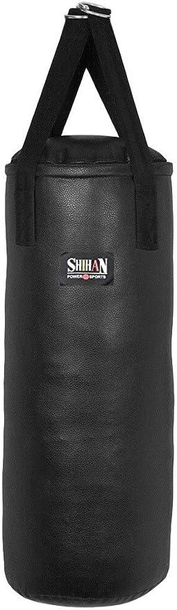 Sold Un-Filled Kickboxing Martial Arts 3ft Punch Bag Shihan Tyson Rexion Leather Super Tough Punch Bag Boxing Bag Boxing