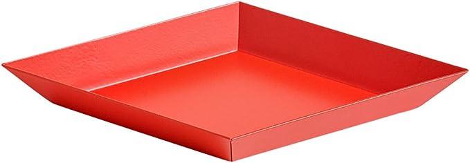 HAY 503925 Bandeja, acero, Color rojo con revestimiento de polvo ...