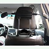 BFRed Car Seat Coat Rack Hanger Seat Chair Back Multifunction Suit Retractable Hanger (Black)