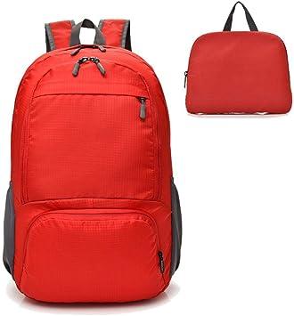 Leap de G Sport bolsillos Turn Bolsa Hipster, moderno Turn Bolsa Bolsa de tela, Outdoor – Mochila Mode Mochila Escolar, bolsa de Premium Pack de Juego para viaje, Excursión y Ocio, Rojo: