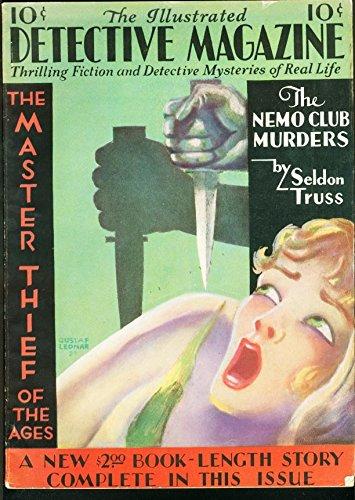 ILLUSTRATED DETECTIVE MAGAZINE 1930 #2-JESSE JAMES FN