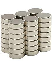 SBS® Neodymium Magente | Ø 20 x 5 mm | 20 stuks | Supermagneten met extreme hechtkracht | schijfmagneet | magneetschijf