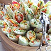 Amazon.com : Three Ladies Spring Roll Rice Paper Wrappers