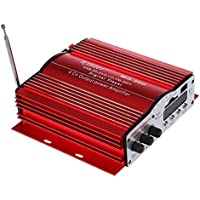 Amplifier - kinter motorcycle 4-channel auto-fm remote stereo amplifiers