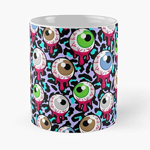 Eyeball Eye Eyeballs - Coffee Mugs Unique Ceramic Novelty Cup -