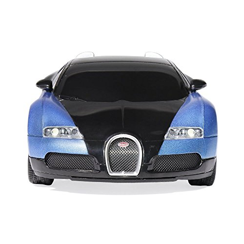 Radio Remote Control Bugatti 1 24 Scale RC Toy Car, Blue