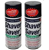 Remington SP-4 Shaver Saver Cleaner & Lubricant Spray (2 Cans)