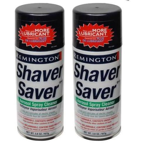 Remington SP-4 Shaver Saver Cleaner & Lubricant Spray (2 (Shaver Head Cleaner)