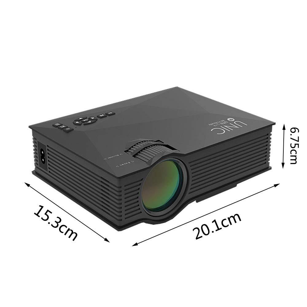 QTIAN UC46 proyector HD para el hogar Mini Mini Cable HDMI ...