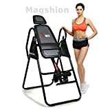 X-MAG Gravity Inversion Therapy Table Deluxe Adjustable Folding Table With Comfort Foam Backrest And Headrest