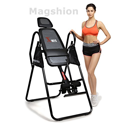 X MAG Gravity Inversion Therapy Table Deluxe Adjustable Table With Comfort Foam Backrest And Headrest