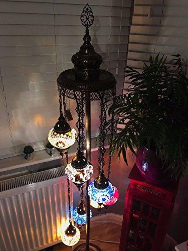 Turkish Glass Pendant Lights in Florida - 6
