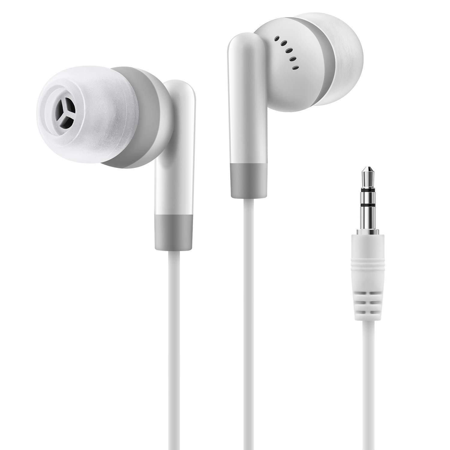 in-Ear Headphones/Wired Earbuds with Remote and Microphone