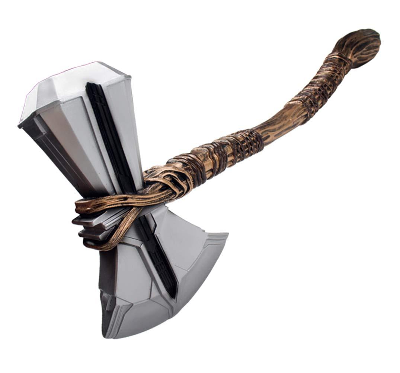 Gmasking 2019 Norse Mythology Mjolnir Storm Axe Cosplay Hammer 1:1 Replica Props