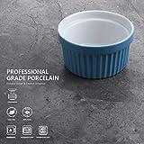 Sweese 501.607 Porcelain Souffle Dishes, Ramekins