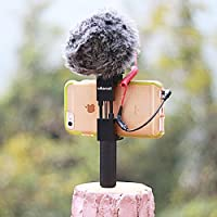 Metal Phone Tripod Mount with Hot Shoe Mount-Ulanzi ST-02 Pro Smartphone Holder Video Rig Tripod Mount Adapter (IRON MAN II with Hand Grip)