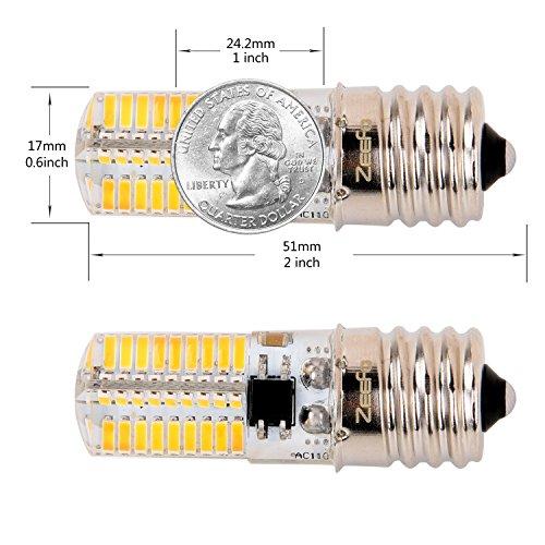 best ZEEFO E17 LED Bulbs, Dimmable 4 Watt Warm White 3000K