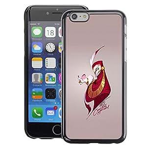Snap-on Series Teléfono Carcasa Funda Case Caso para iPhone 6 , ( Mouse & Man )