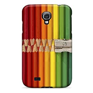 Premium Galaxy S4 Case - Protective Skin - High Quality For Color Pencil