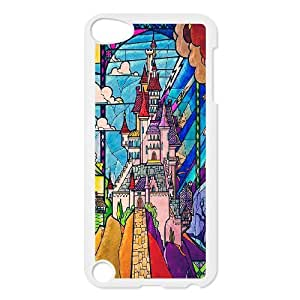 Chaap And High Quality Phone Case FOR Ipod Touch 5 -Fairy Village & Castle Pattern-LiShuangD Store Case 4