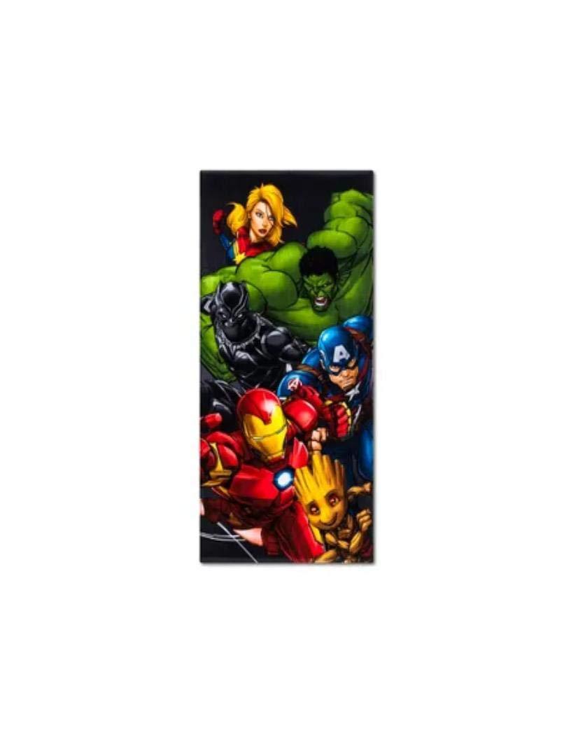 Beach Towel Marvel Avengers End Game Cotton 28'' x 58'' Kids