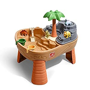 Step2 Dino Dig Sand & Water Table (Deluxe Pack - Includes: Dino Figures & Accessories)