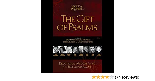 Amazon com: The Gift of Psalms: The Word of Promise Audio