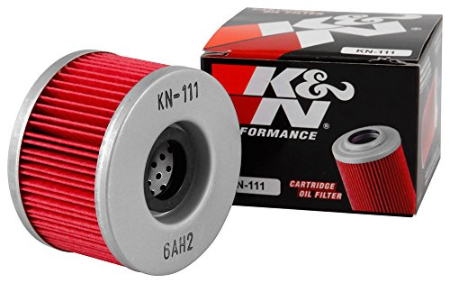 KN-111 K&N Performance Oil Filter; POWERSPORTS CARTRIDGE (Powersports Oil Filters):
