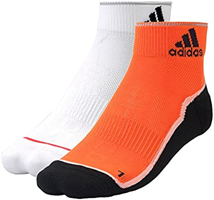 adidas Performance Zapatillas Calcetines, Blanco, Naranja y Negro ...