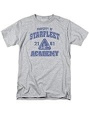 Popfunk Star Trek Distressed Starfleet Academy T Shirt & Stickers