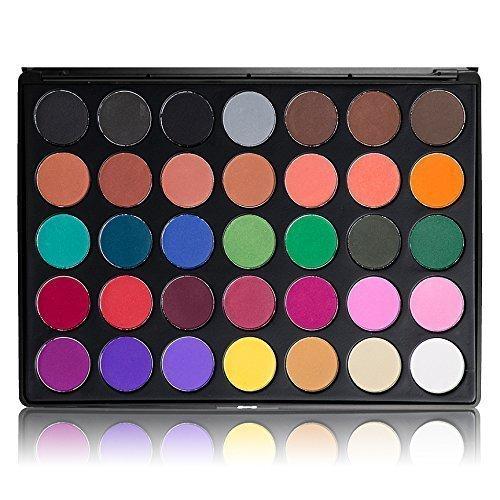 35 warm color palette morphe - 8