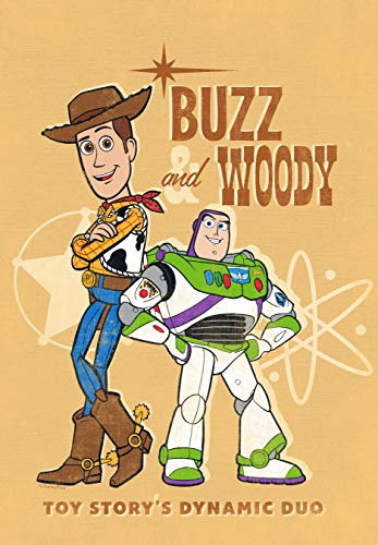 Flagology.com, Disney, Buzz & Woody, Buzz & Woody Dynamic Duo - Garden Flag - 12.5